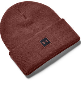 Under Armour UA Truckstop Beanie - Cinna Red--Black - OSFA