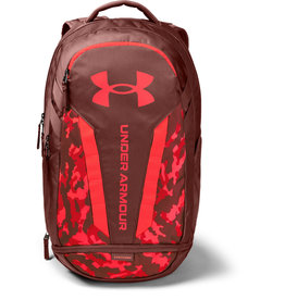 Under Armour UA Hustle 5.0 Backpack - Cinna Red-Beta-Beta - OSFA