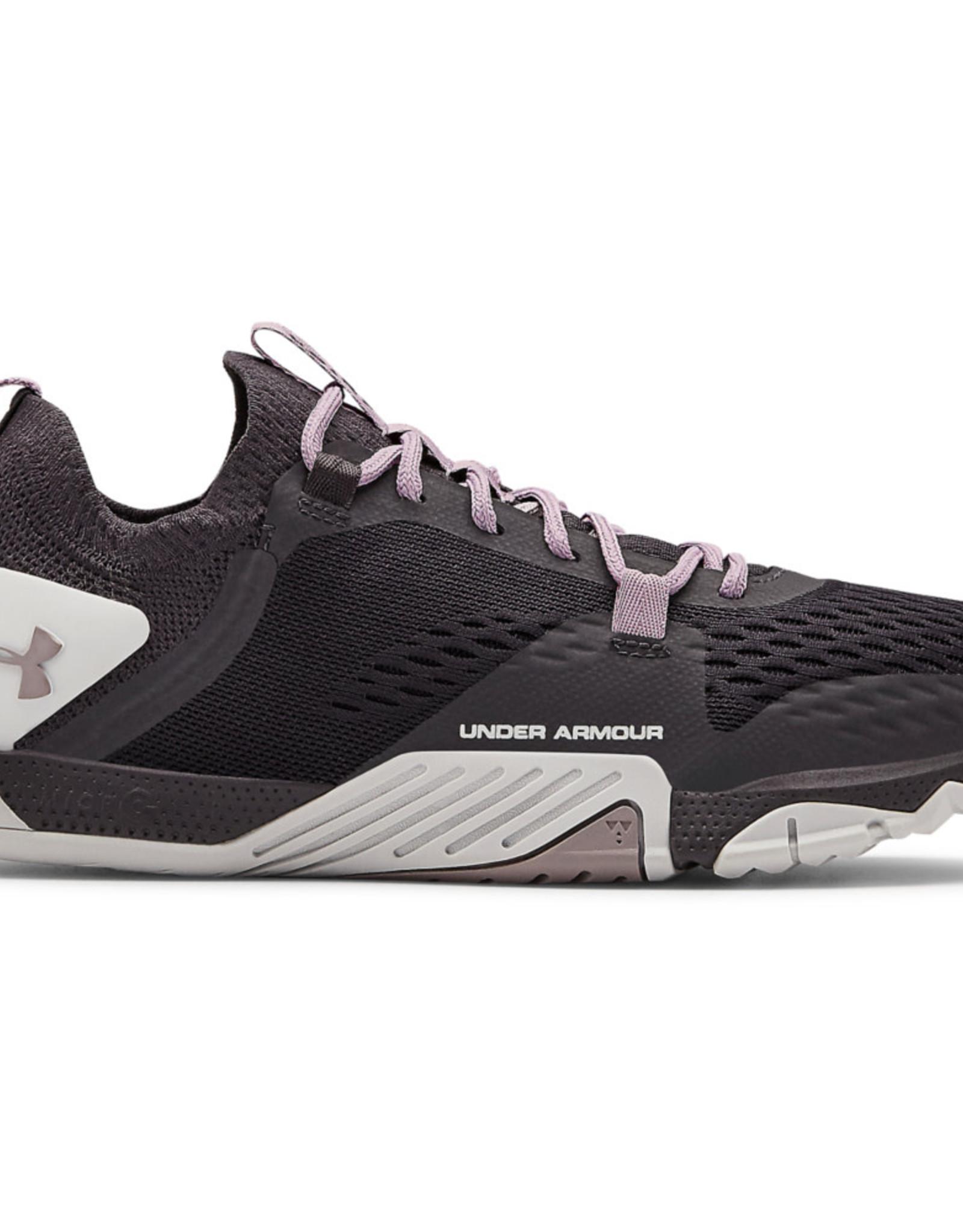 Under Armour UA W TriBase Reign 2 - Blackout Purple-Halo Gray-Slate Purple