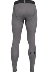 Under Armour UA ColdGear Leggings - CHARCOAL LIGHT HEATHER--Black