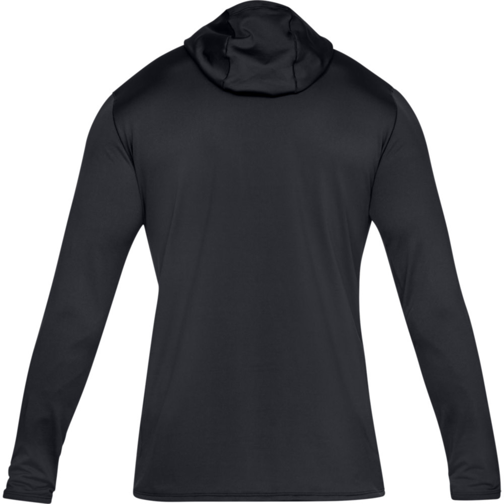 Under Armour UA ColdGear Fitted Hoodie - Black--Charcoal