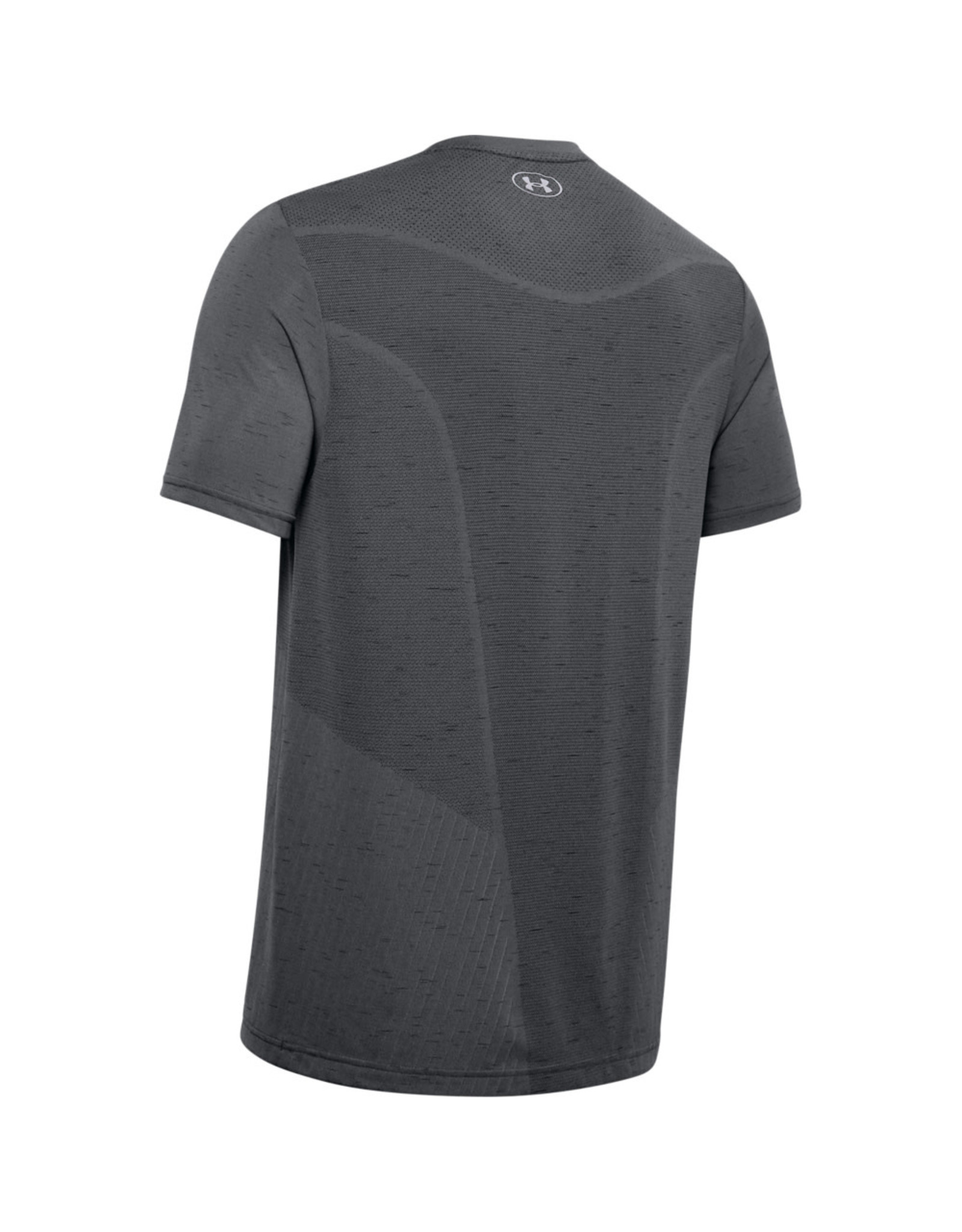 Under Armour UA Seamless SS - Pitch Gray--Mod Gray