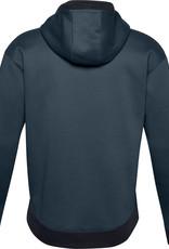 Under Armour UA Recover Fleece Hoodie - Mechanic Blue--Black