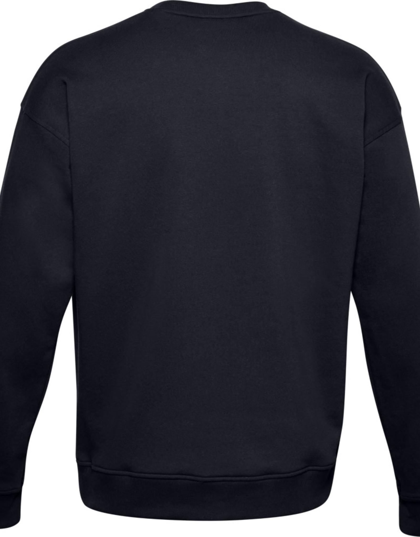 Under Armour UA Rival Fleece Camo WM Crew - Black--Black