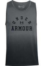 Under Armour UA COLLEGIATE TANK - Pitch Gray--Black