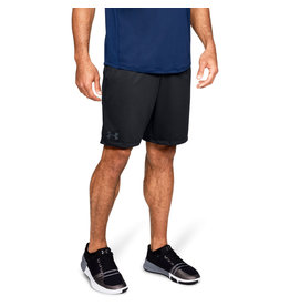 Under Armour UA MK-1 Shorts - Black-Black-STEALTH GRAY