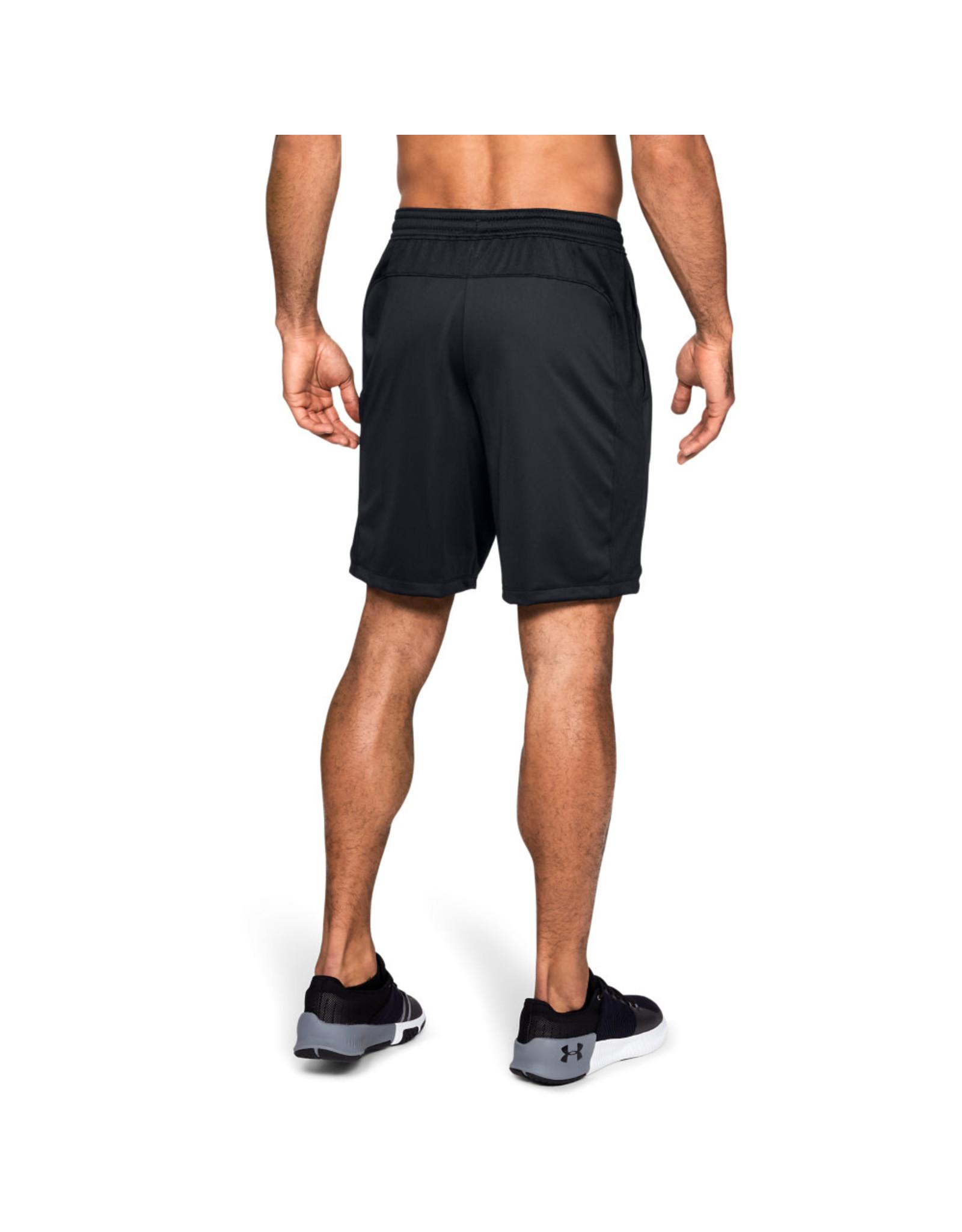 Under Armour UA MK-1 Shorts - Black-Black-STEALTH GRAY