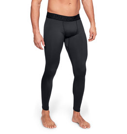 Under Armour UA ColdGear Leggings - Black--Charcoal