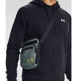 Under Armour UA Crossbody - Lichen Blue-Black-Metallic Gold Luster - OSFA