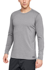 Under Armour UA ColdGear Fitted Crew - CHARCOAL LIGHT HEATHER--Black