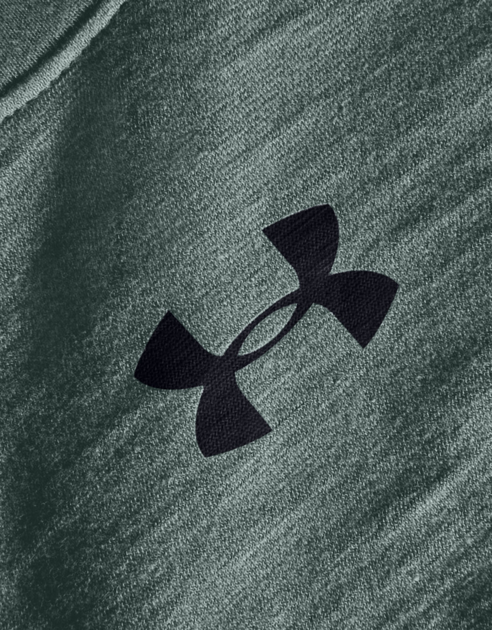 Under Armour UA Charged Cotton SS - Lichen Blue--Black