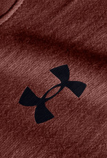 Under Armour UA Charged Cotton SS - Cinna Red--Black