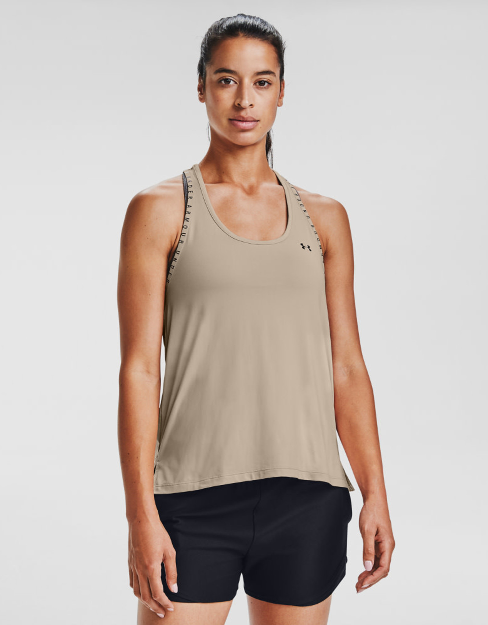 Under Armour UA Knockout Tank - Desert Rose-Black-Black