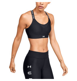 Under Armour UA Infinity High Bra - Black-Black-White