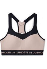 Under Armour Armour High Crossback Bra - Desert Rose--Black
