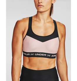 Under Armour Armour High Crossback Bra - Desert Rose--Black