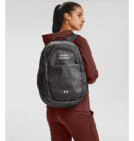 Under Armour UA Hustle Signature Backpack - Jet Gray-Jet Gray-Metallic Silver - OSFA