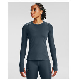 Under Armour UA Empowered LS Crew -Mechanic Blue-Reflective