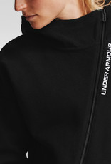 Under Armour Recover Fleece FZ Hoodie - Black--White