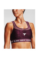 Under Armour UA Project Rock Bra - Level Purple--ROSEWATER