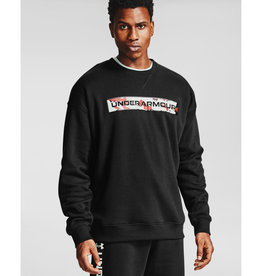 Under Armour UA Rival Fleece Camo WM Crew - Black--Black