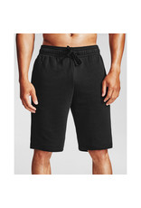 Under Armour UA Rival Fleece Shorts - Black--Onyx White