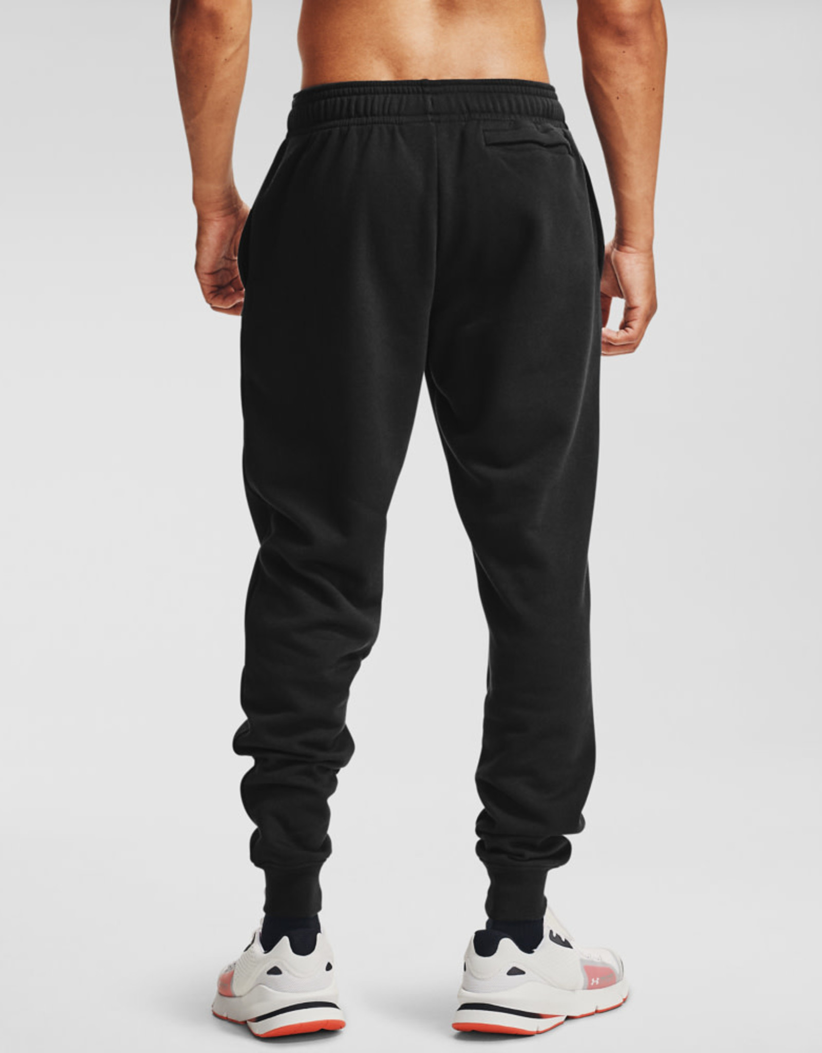 Under Armour UA Rival Fleece Joggers - Black--Onyx White