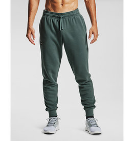 Under Armour UA Rival Fleece Joggers - Lichen Blue--Onyx White