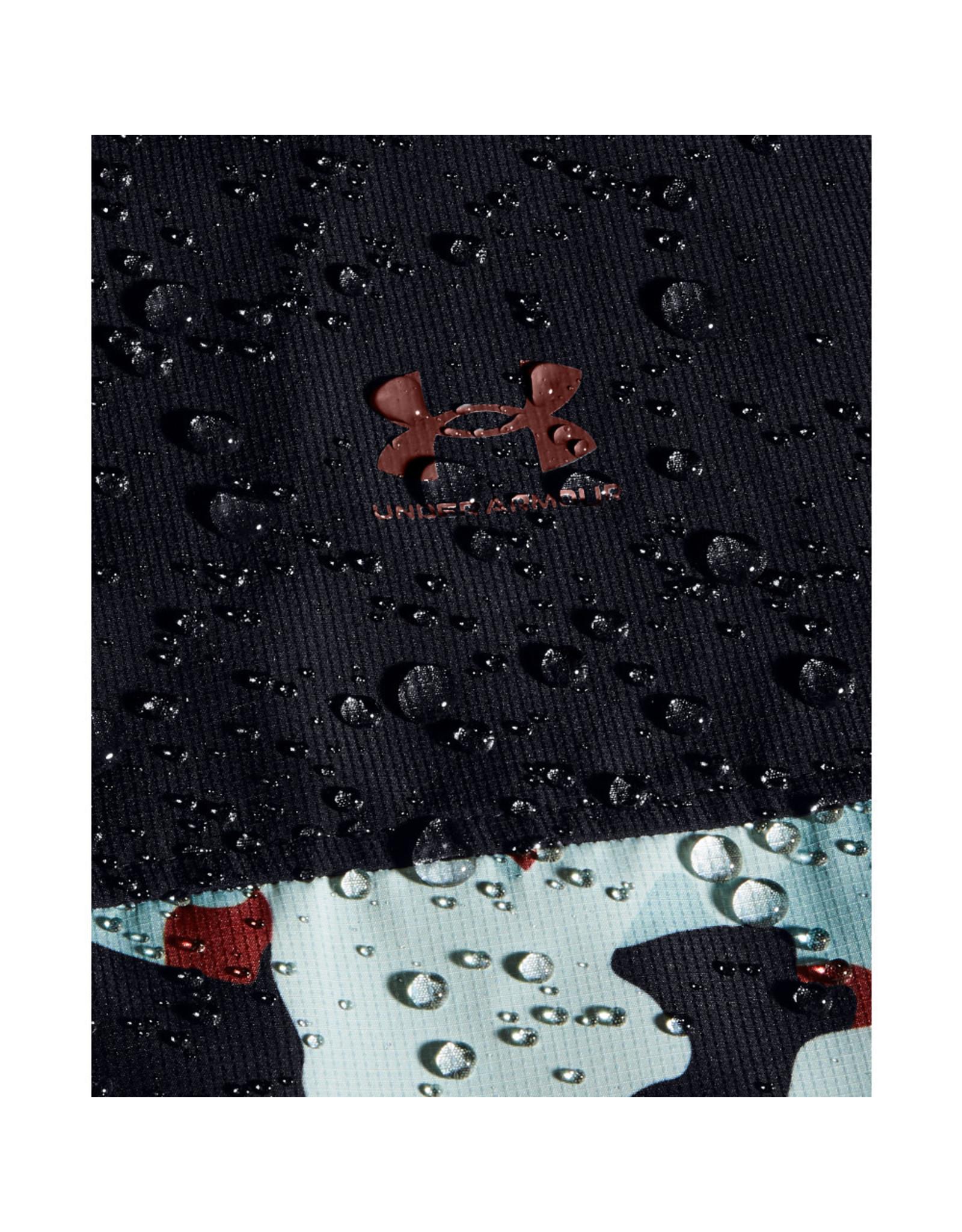 Under Armour UA Sportstyle Wind Camo Jkt - Black--Cinna Red