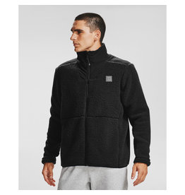 Under Armour UA LEGACY SHERPA SWACKET - Black-Black-Pitch Gray