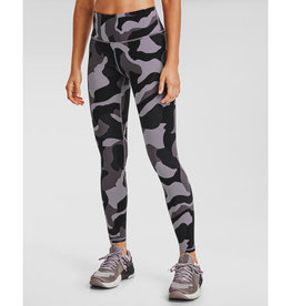 Under Armour UA Rush Camo Legging - Slate Purple-Black-IRIDESCENT