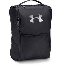 Under Armour UA Shoe Bag - Black-Black-Silver - OSFA