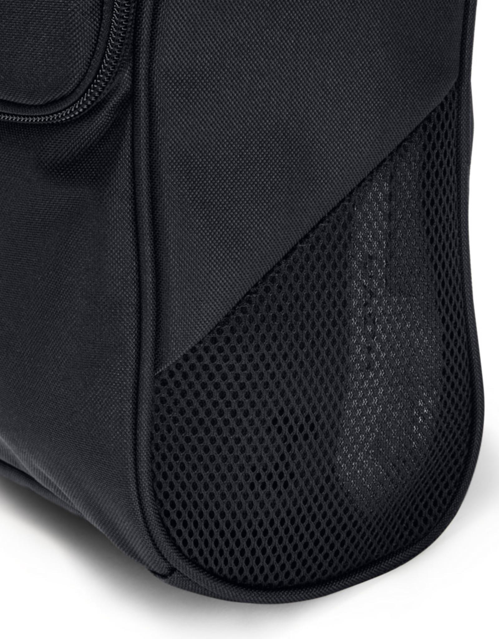 Under Armour UA Shoe Bag - Black-Black-Silver - OSFA