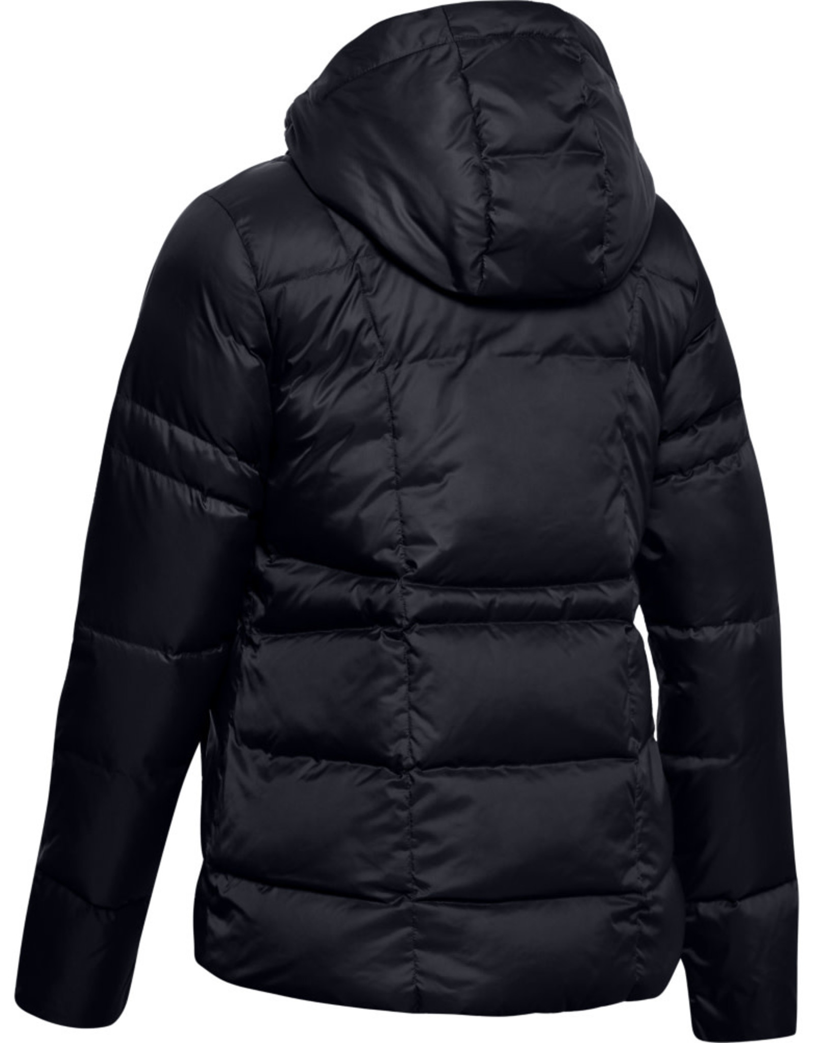 Under Armour UA Armour Down Hooded Jkt - Black--Jet Gray