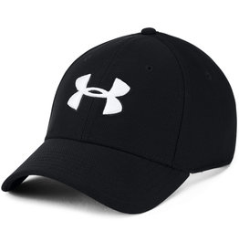 Under Armour UA Men's Blitzing 3.0 Cap - Black-Black-White