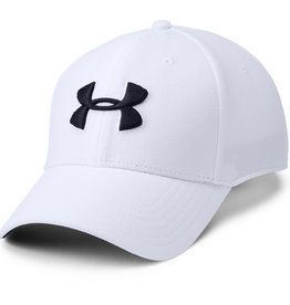 Under Armour UA Men's Blitzing 3.0 Cap - White-Steel-Black