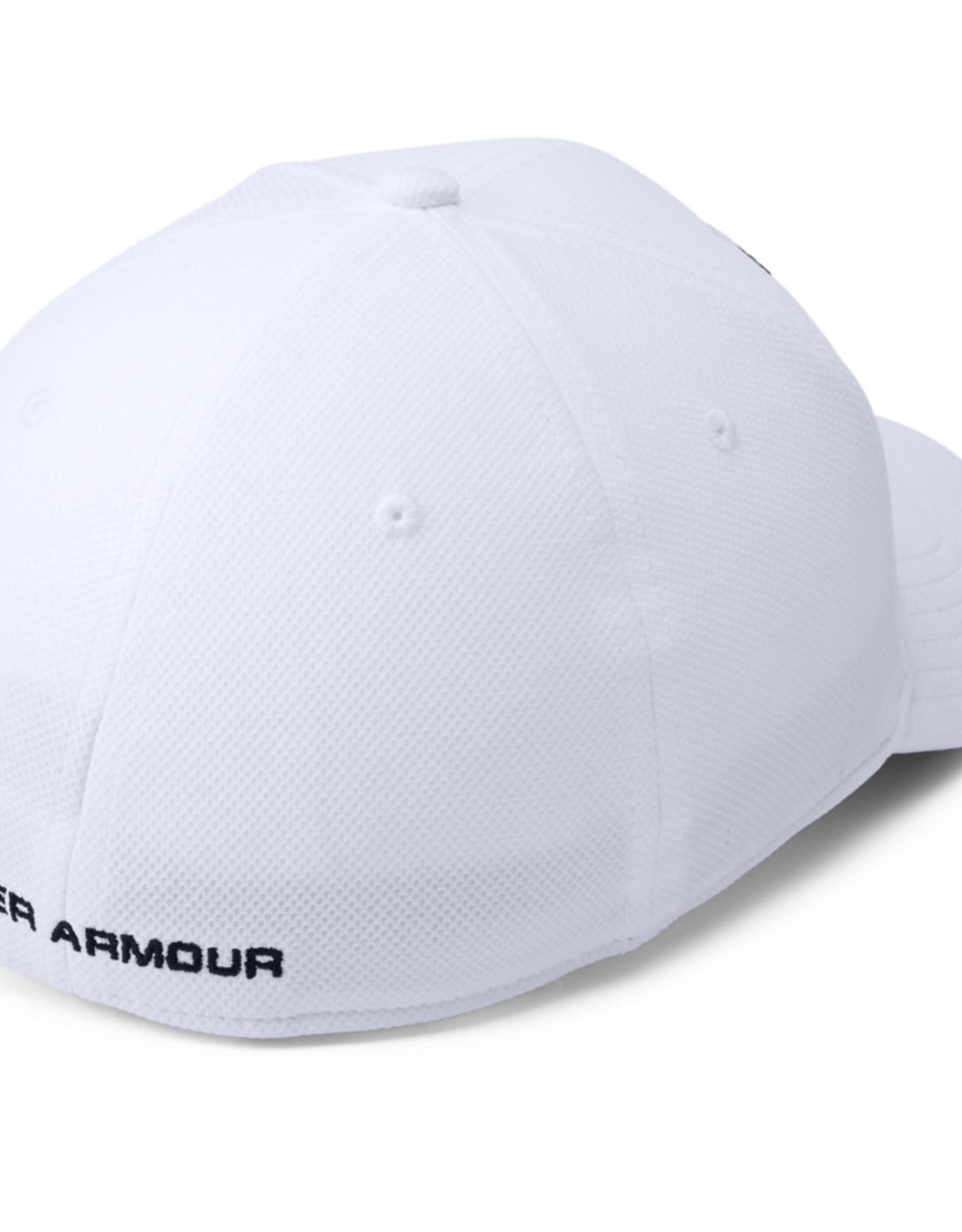 Under Armour UA Men's Blitzing 3.0 Cap - White-Steel-Black