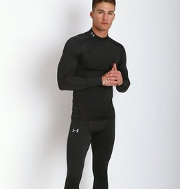 Under Armour Men's UA ColdGear Compression Mock - Black