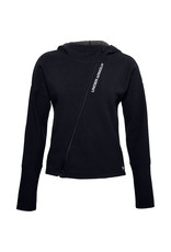 Under Armour Recover Fleece FZ Hoodie - Black--White