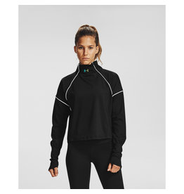 Under Armour UA CG Rush 1/2 Zip - Black-White-IRIDESCENT