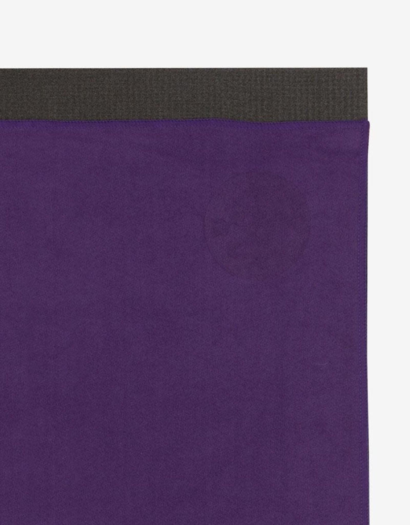 Manduka eQua Mat Towel - Standard - Black Magic (Purple)