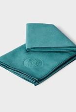 Manduka eQua Mat Towel - Standard - Tropical Surf