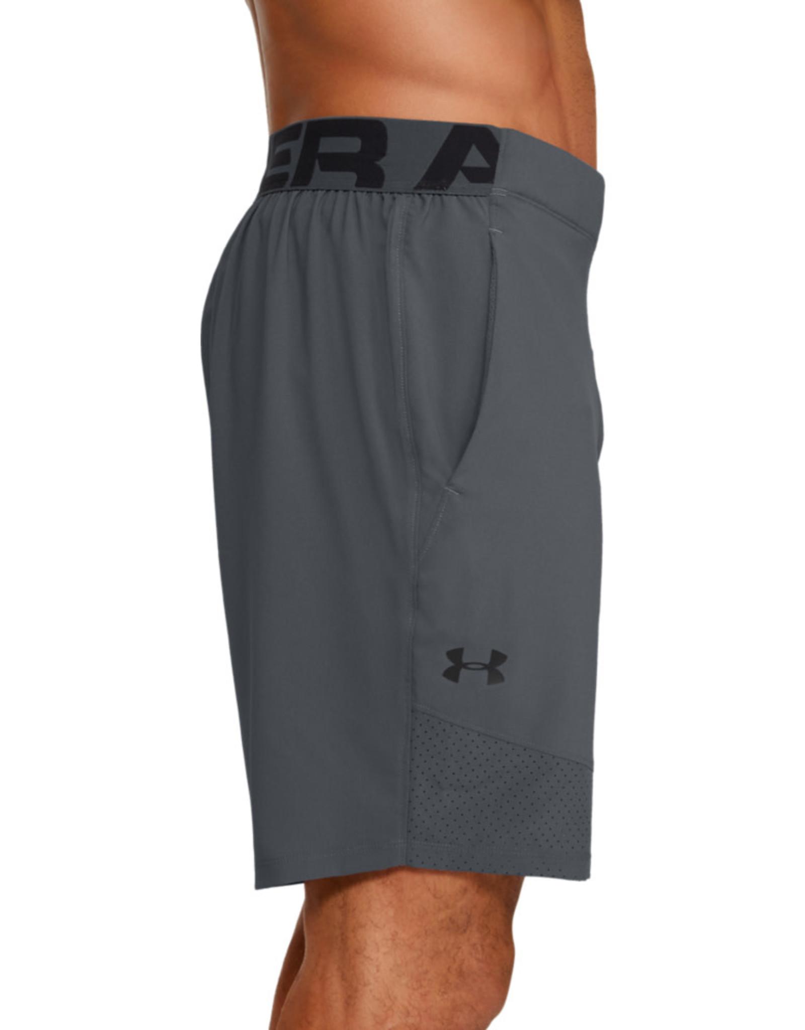 Under Armour UA Vanish Woven Shorts - Grey--Black