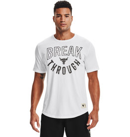 Under Armour UA PJT ROCK BREAK THROUGH SS - Onyx White--Black