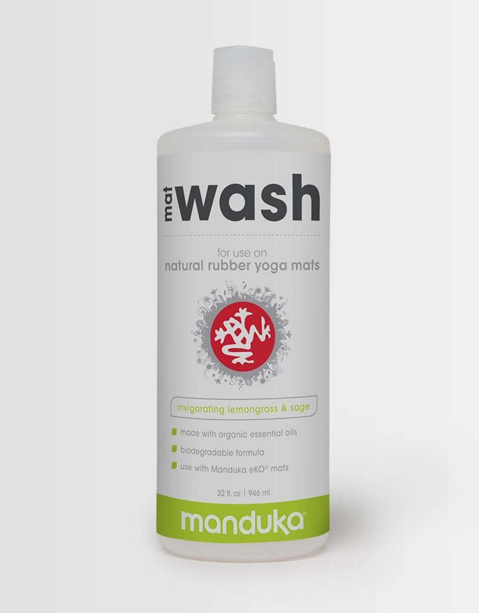 Manduka MatWash Renew 32OZ 946ml Lemongrass (with trigger spray)