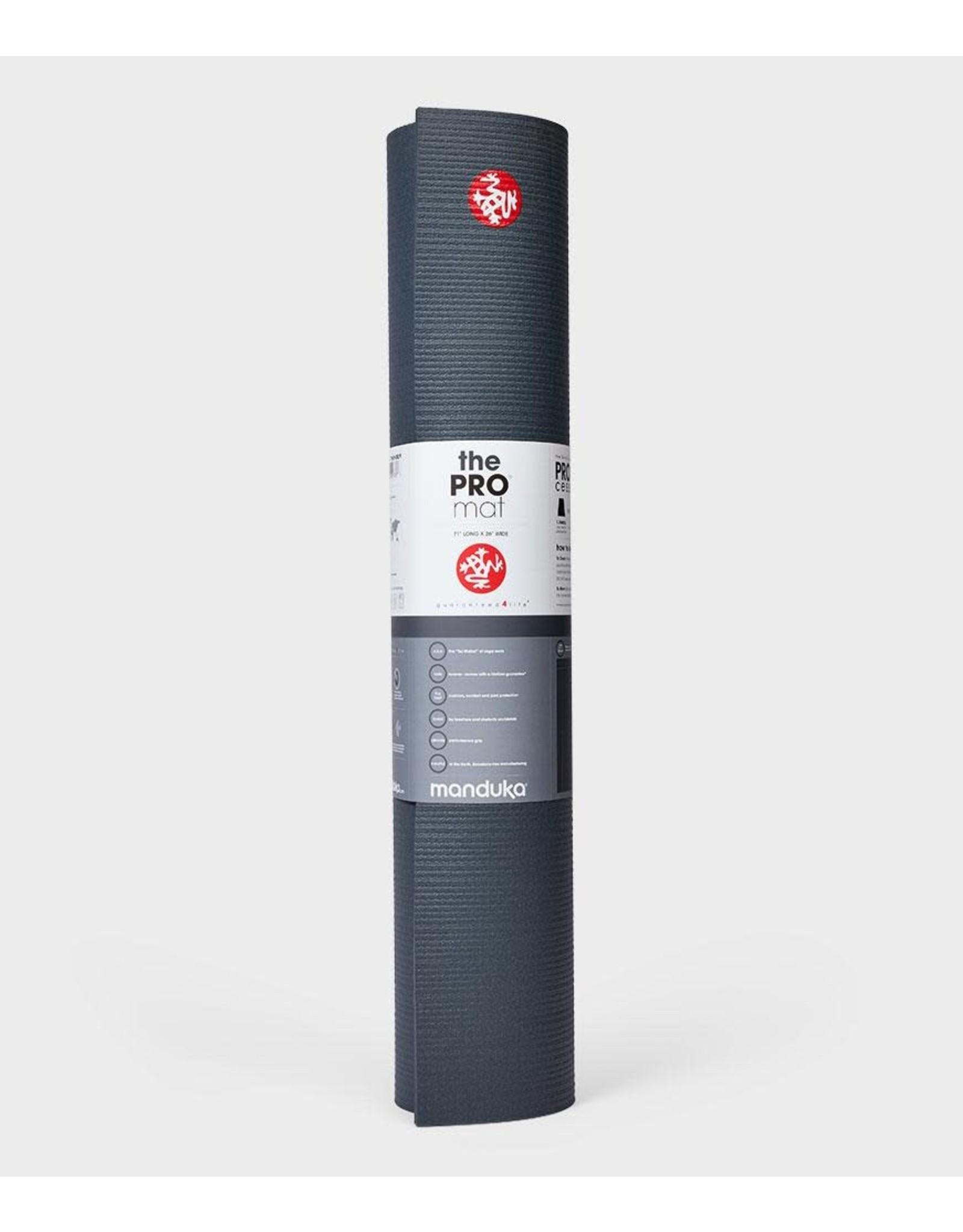 Manduka PRO71 mat 6mm - Thunder