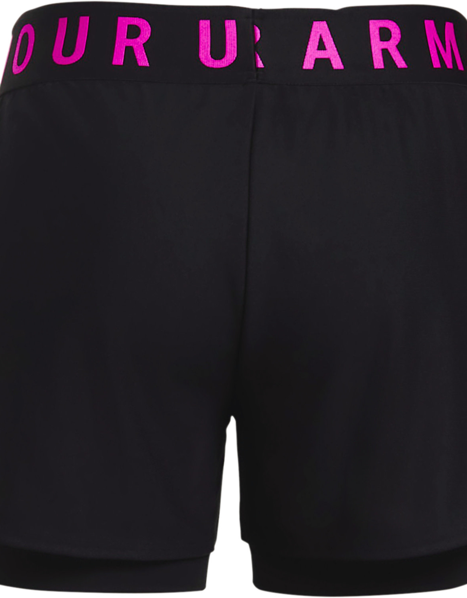 Under Armour Play Up 2-in-1 Shorts-BLK