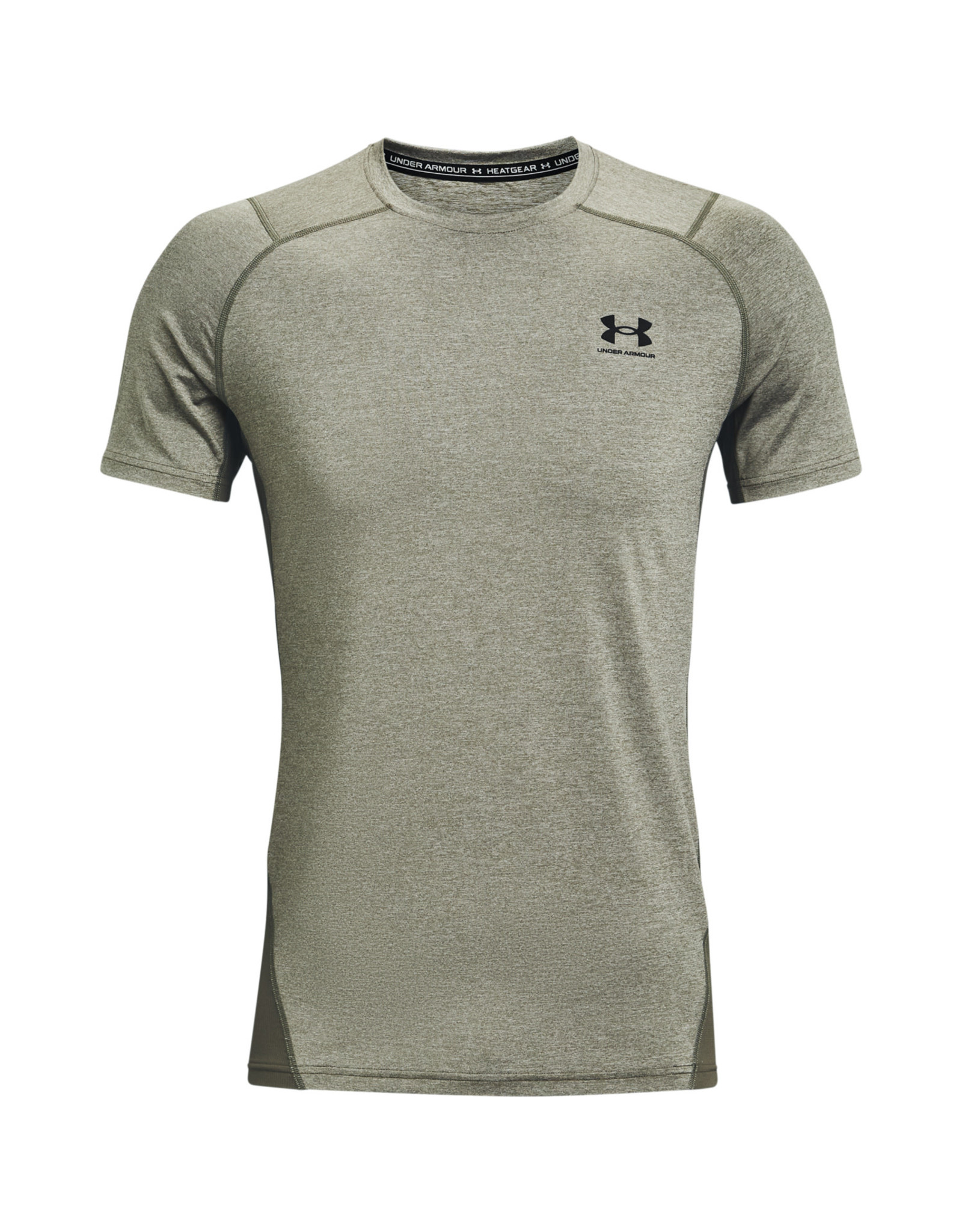 Under Armour UA HG Armour Fitted SS-GRN