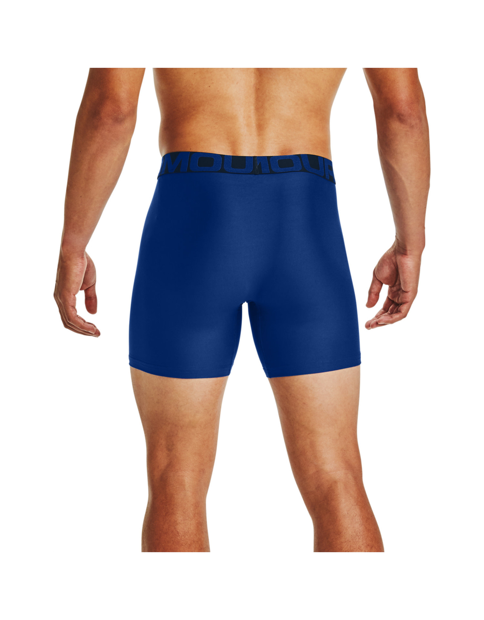 Under Armour UA Tech 6in Boxers 2 Pack-BLU