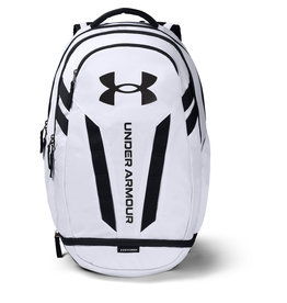 Under Armour UA Hustle 5.0 Backpack-WHT,OSFA